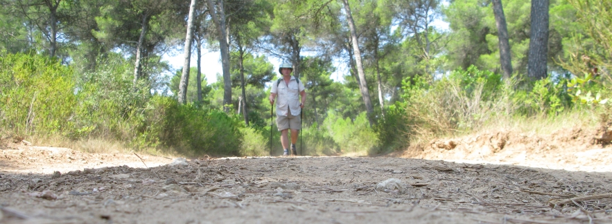 Hiking the Cami de Cavalls, GR223, Menorca. Summer 2014