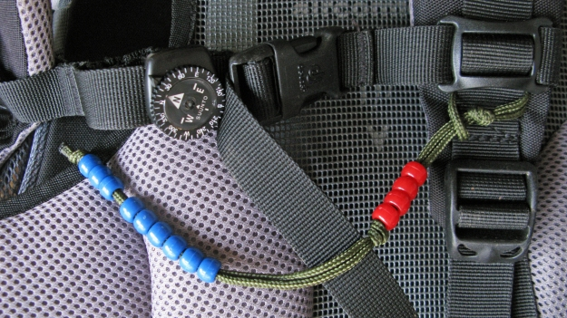 Clip it compass and ranger beads