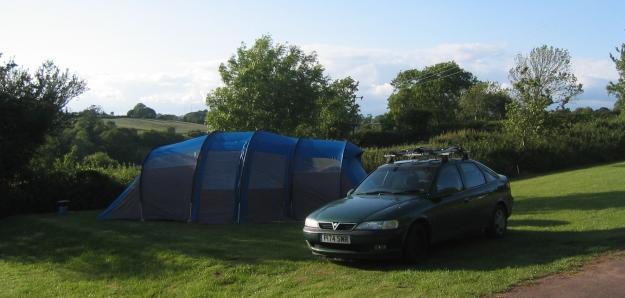 Colman Colombus 8 man tent