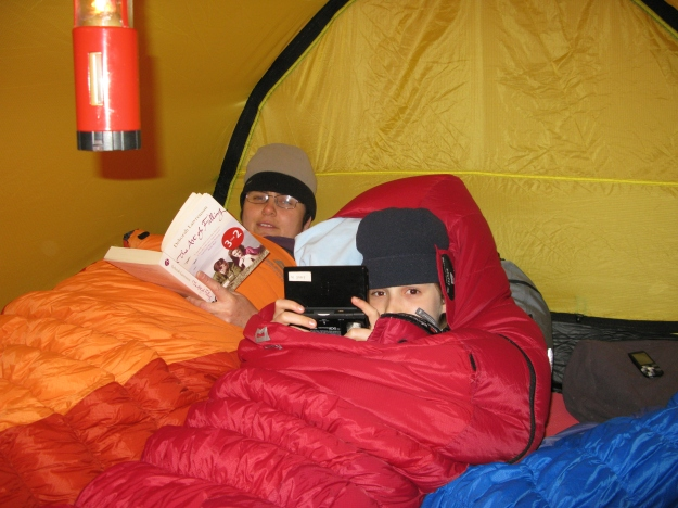 The interior of the Hilleberg Keron 3 GT provided a lot of room