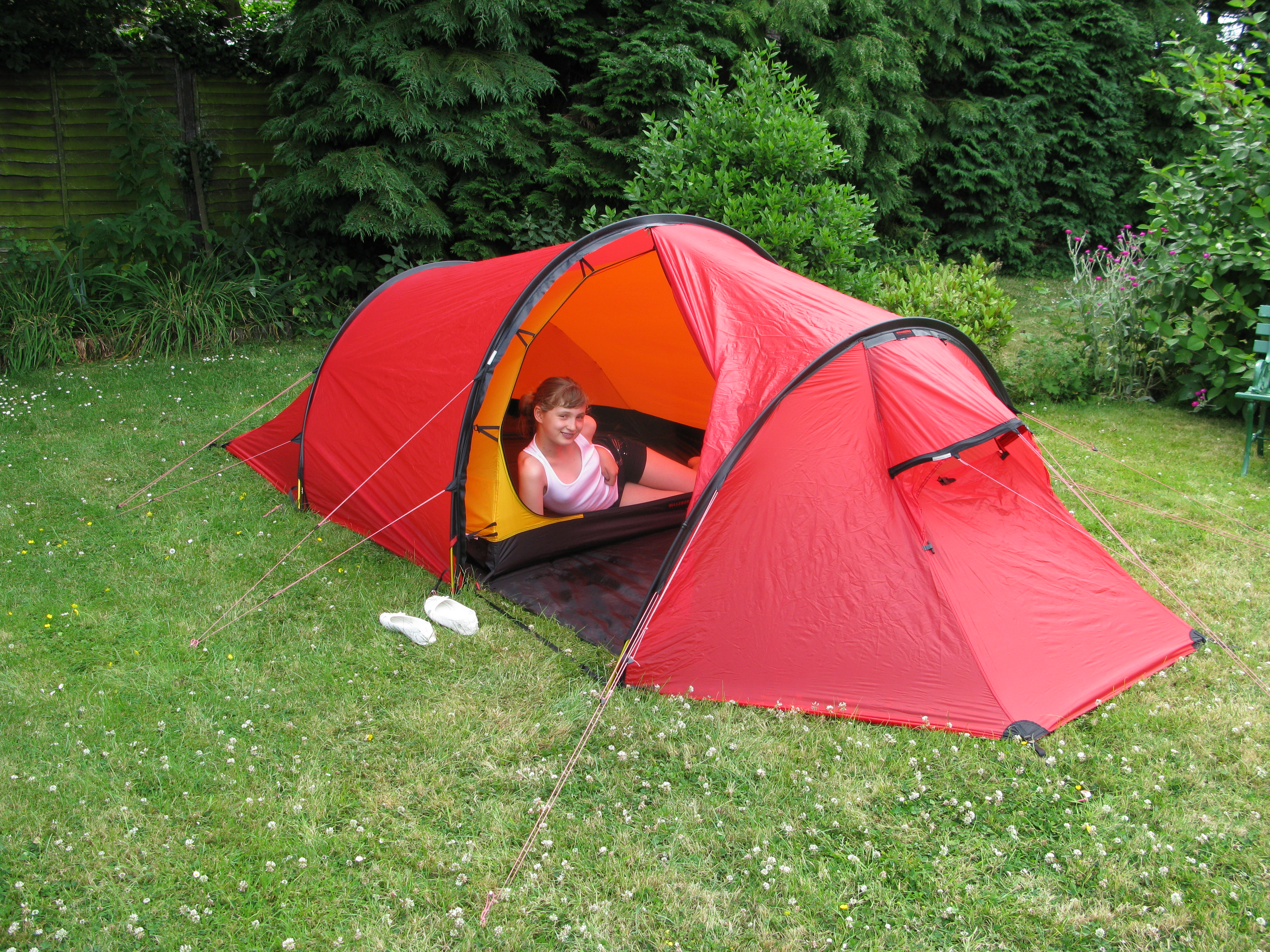 Hilleberg Nallo 3 GT. Kent 2010 & Shelter   Three Points of the Compass