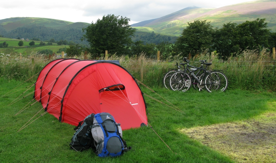 Hilleberg Keron 3 GT. Lake District 2008