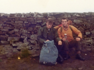 Adventure Training in the Lake District, 1979