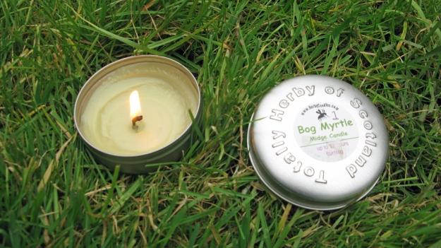 Bog Myrtle candle