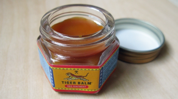 Tiger Balm, red ointment