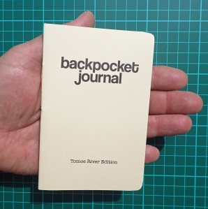 Backpocket journal, Tomoe River Edition