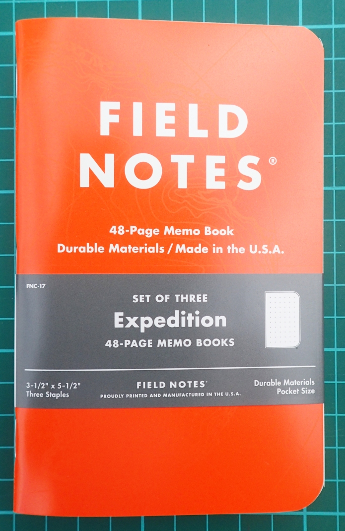 Field Notes. Expedition edition