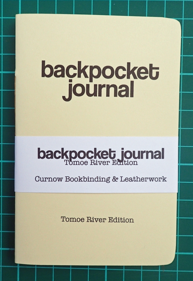 Backpocket Journal- Tomoe River Edition