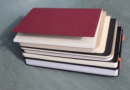 Relative sizes of the eight journals compared