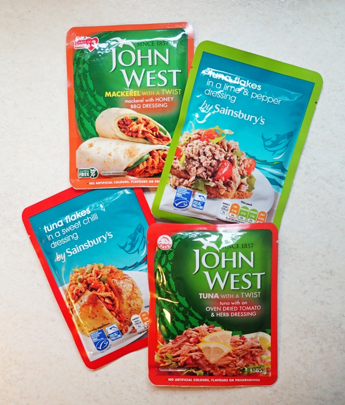 Beyond the brand names such as John West, there are many others available. Here we have