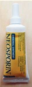 Half ounce tube (14.2g) of Neosporin Triple Antibiotic cream