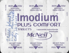 Imodium plus comfort