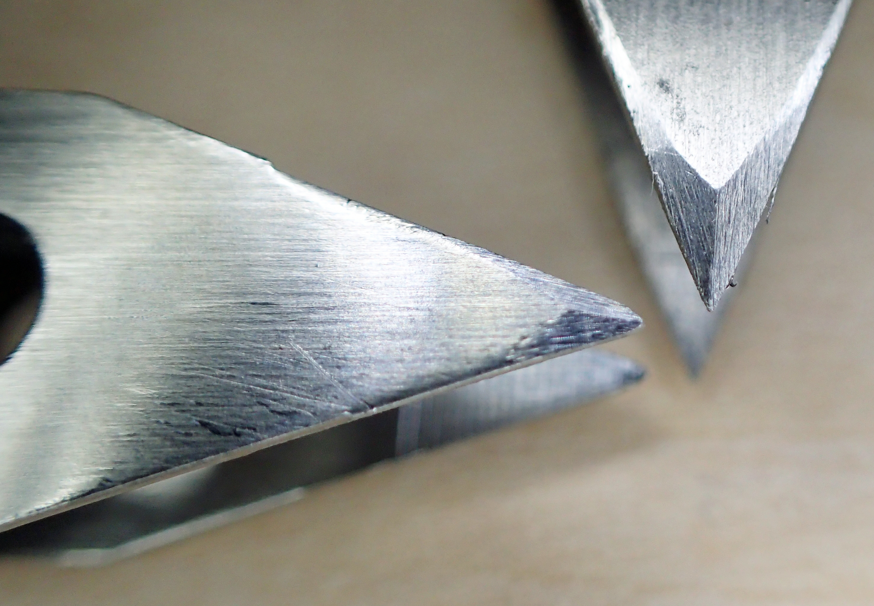 A few minutes with a fine file adding chamfered edges improves the precision points of these tweezers immensely