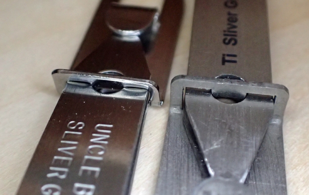 There is very little chance of the tweezers coming separated from the clip holder on their own account