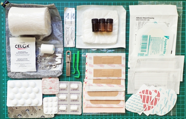 Multi-day, solo use First Aid Kit