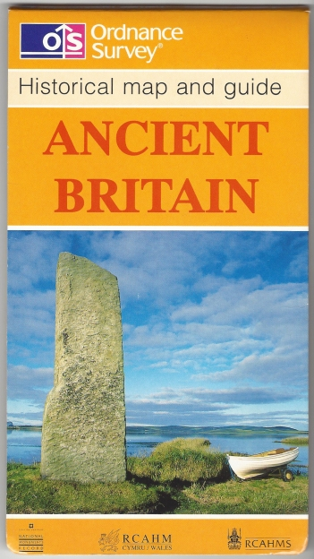 Ordnance Survey map and guide. Ancient Britain. Published 1996