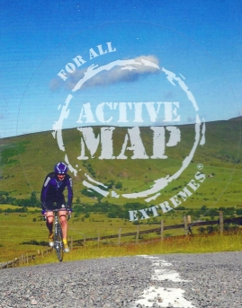 Active Map logo on cover of OL1, The Peak District, Dark Peak Area. Published 2009
