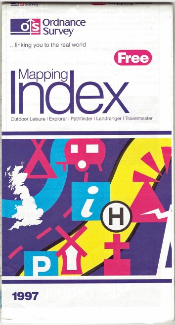 Ordnance Survey Mapping Index. Published 1997
