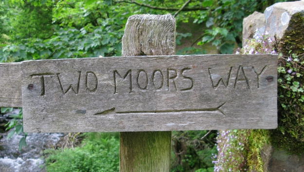 The Two Moors Way- an 89 mile walk from Ivybridge to Lynmouth, crossing Dartmoor and Exmoor