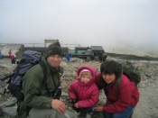 Three Points of the Compass and family. Snowdon, 2003