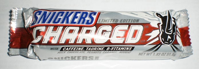 Snickers Charged. 51.9g