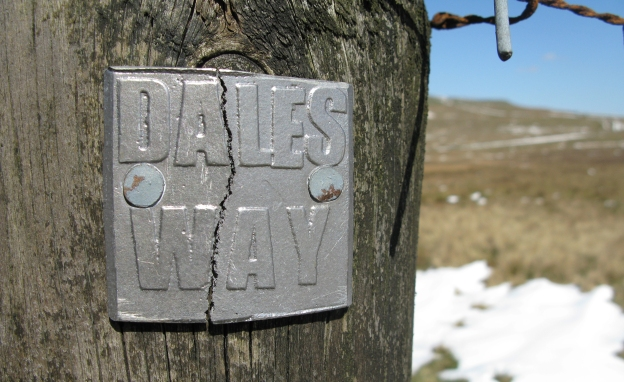 The Dales Way- 78 miles running from Ilkley, through the Yorkshire Dales to Bowness on Windermere on the edge of the Lake District. Through Wharfedale, into the beautiful Dentdale and onward to Sedburgh, this is a gentle and very pretty route
