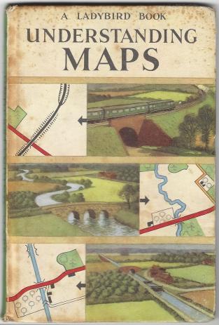 Ladybird- Understanding maps, cover