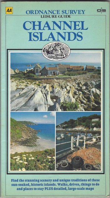 Ordnance Survey Leisure Guide. Channel Islands. Published 1987