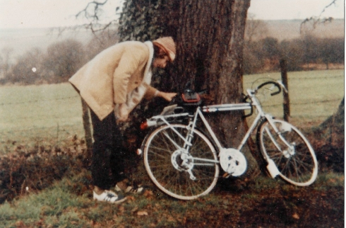 With an O.S. map firmly fixed onto my rear carrier, I cycled the lanes and byways of my Hertfordshire home throughout my teens. c1976