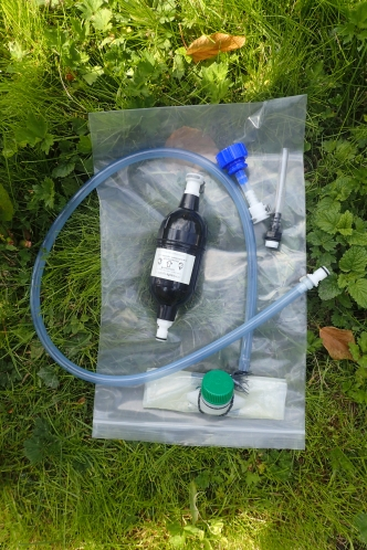 Aquaguard Micro and associated 'dirty water' bladder and hoses