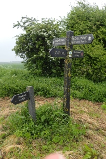 Most water taps are well-signposted from the path