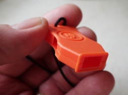 A small, brightly coloured, almost indestructable whistle- but is it a good choice?