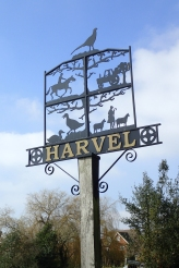 Harvel village sign