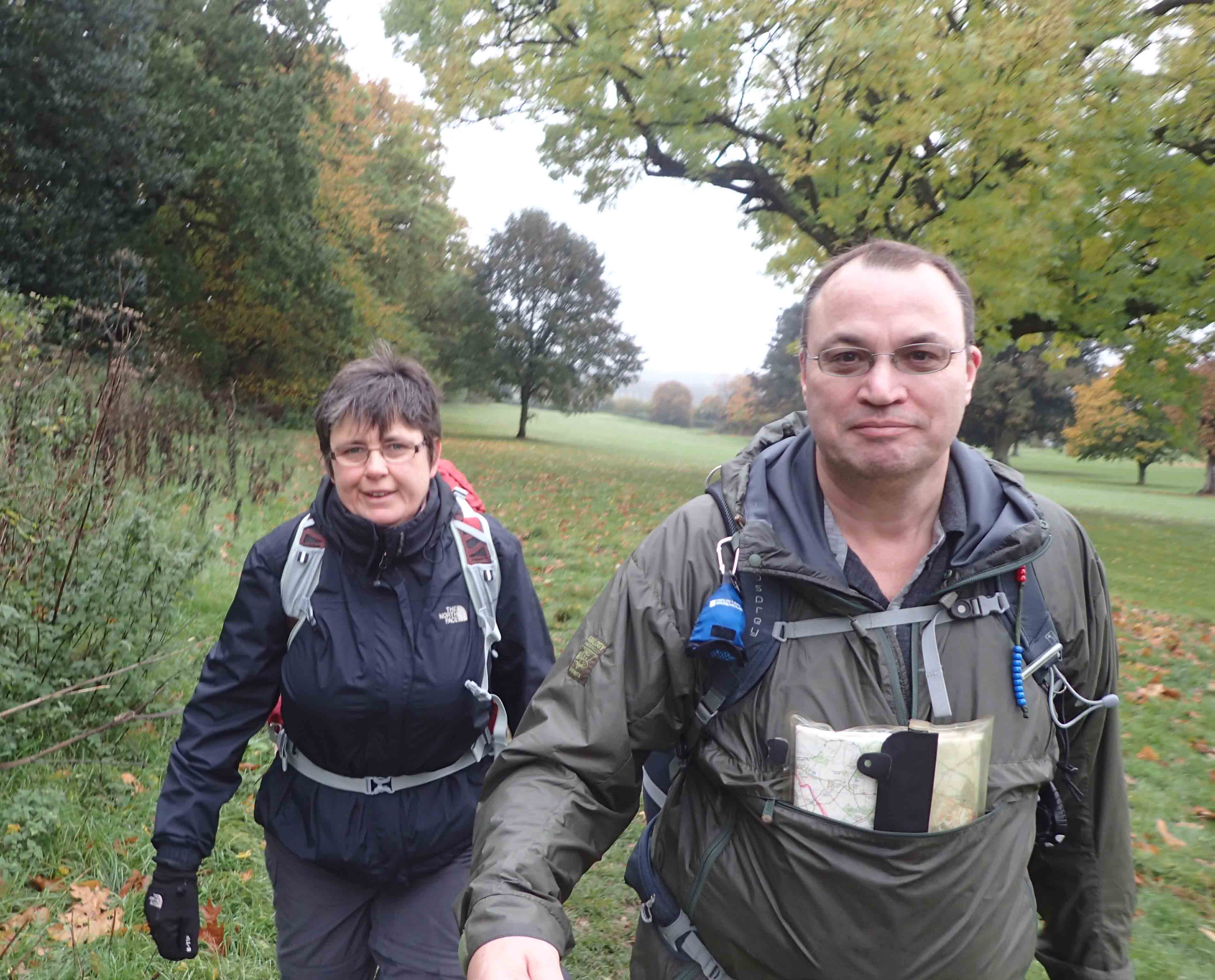 Mrs Three Points of the Compass joins me for part of my week on the London Countryway