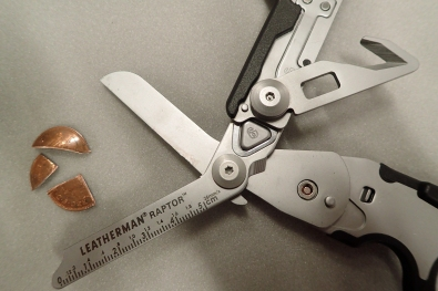 The Leatherman Raptors are tough enough to cut a penny into quarters