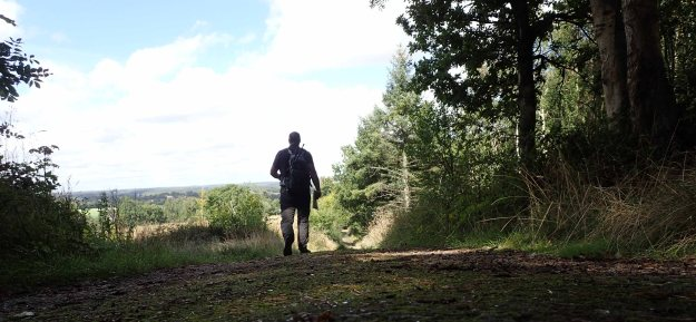 Following the London Countryway between Marlow and High Wycombe. The gentle and pretty landscape progressively became more agricultural on the