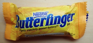 The diminutive Nestle Butterfinger