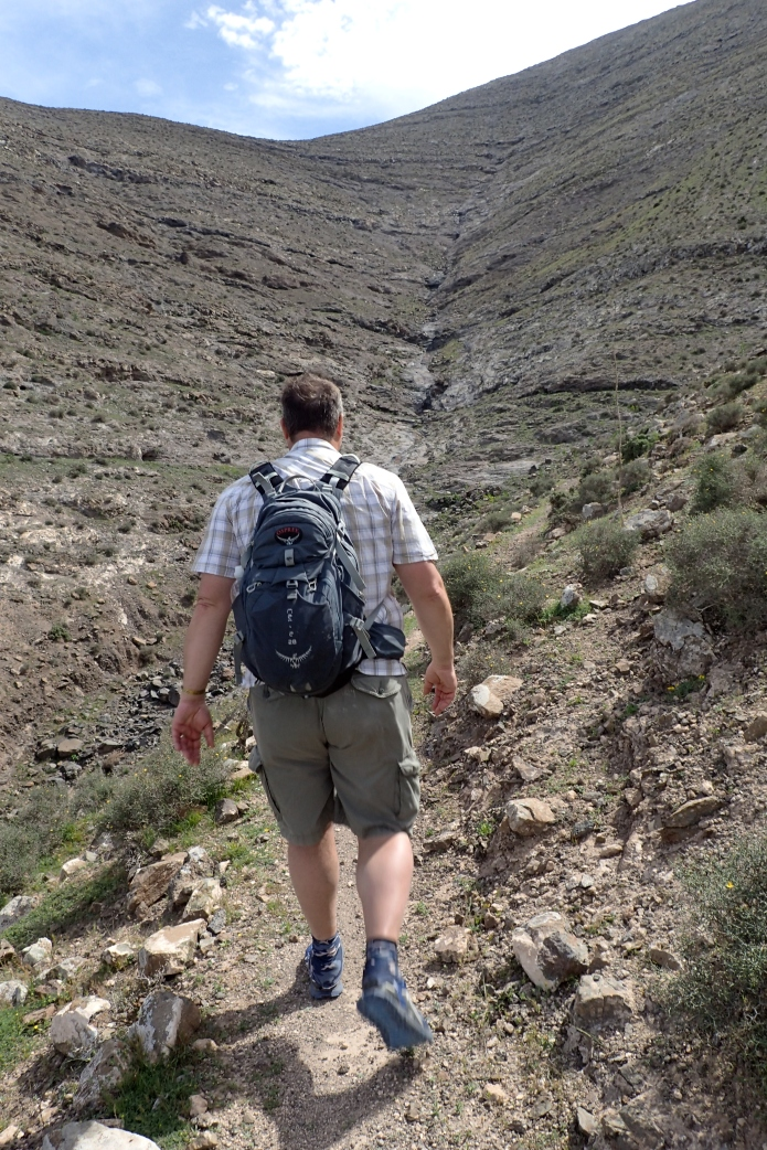 Three Points of the Compass hiking in Fuertenventura February-March 2017