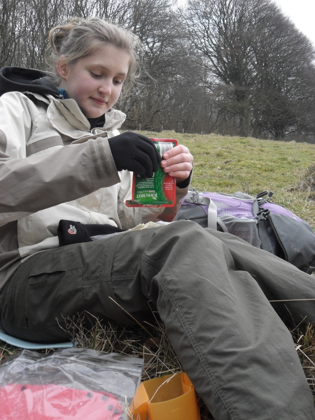 When my daughter was preparing for her Duke of Edinburgh Expedition, it was toward the the simplicity and effectiveness of a pouch tuna and flat bread that I pointed her in a training hike