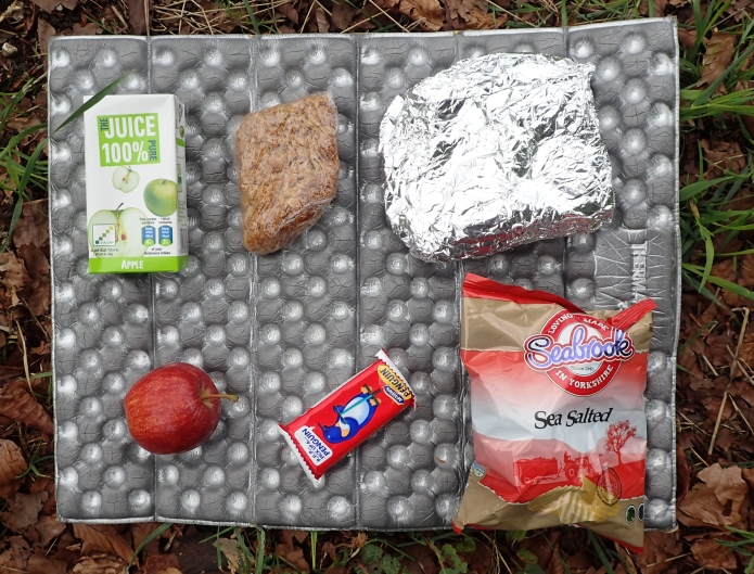 Lunch provided by the Court Hill Centre. An Independent hostel in Wantage, Oxfordshire