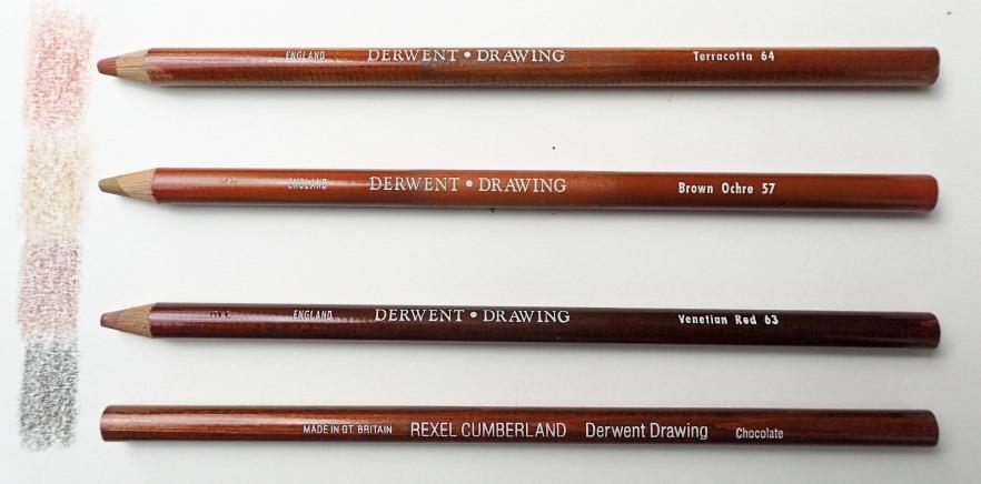 Derwent coloured drawing pencils