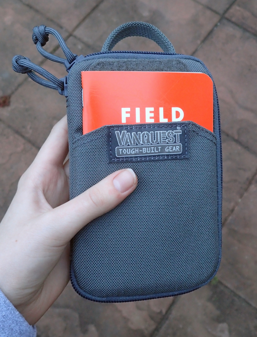 Vanquest make a wide range of incredibly well made and tough pouches. I don't think that this is even suitable for day hikes, perhaps being more for crossing time zones in the harshest of conditions