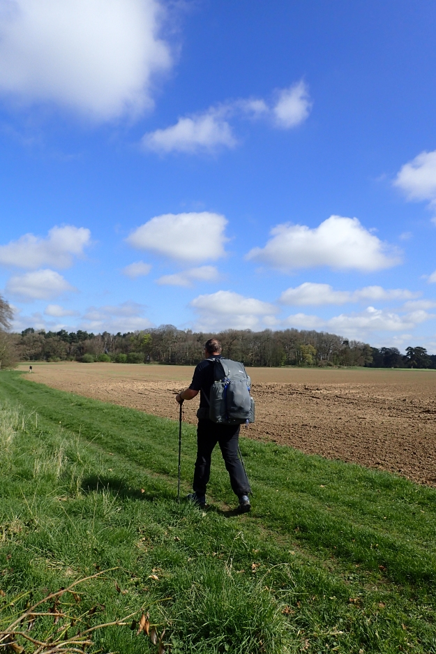 I passed few people on the Peddars Way, frequently the only people I would see for hours would be farm workers in the fields