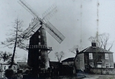 Little Cressingham combined water and wind mill as it once was