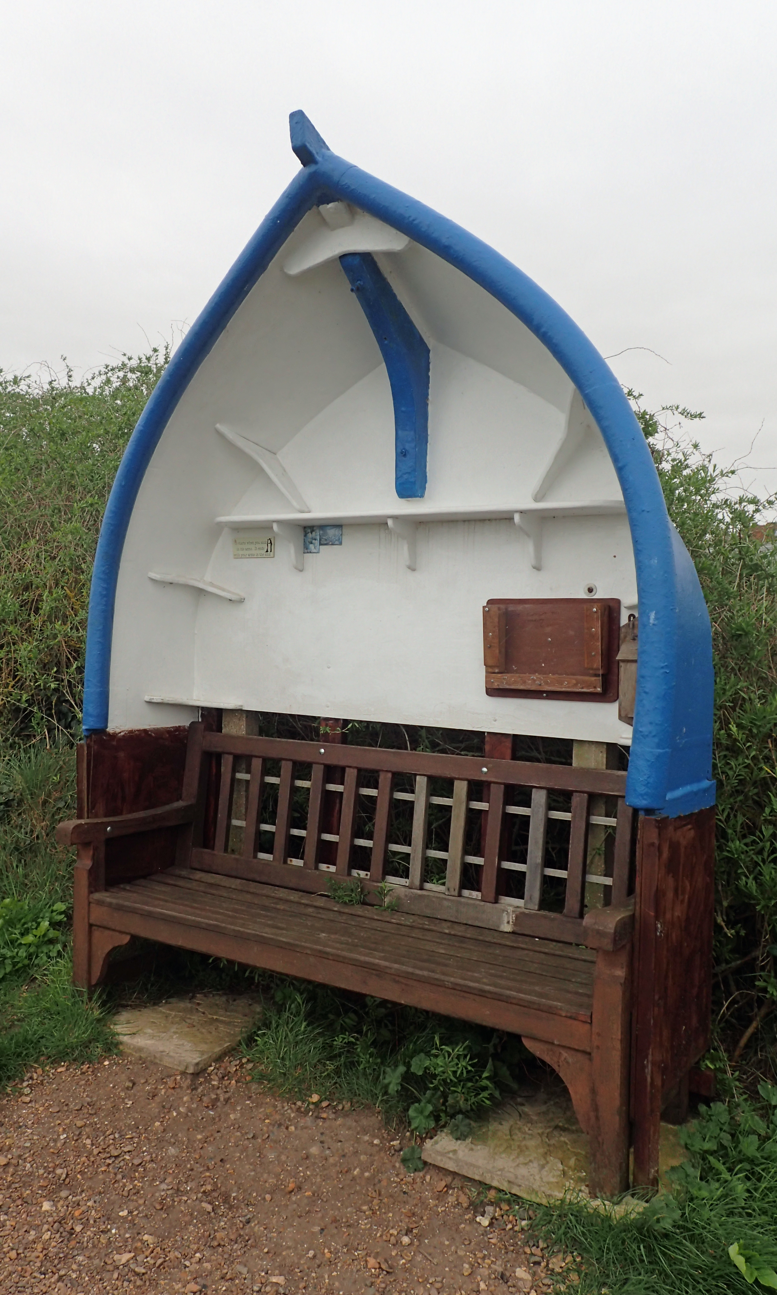 Reminders of a seafaring community can be found everywhere