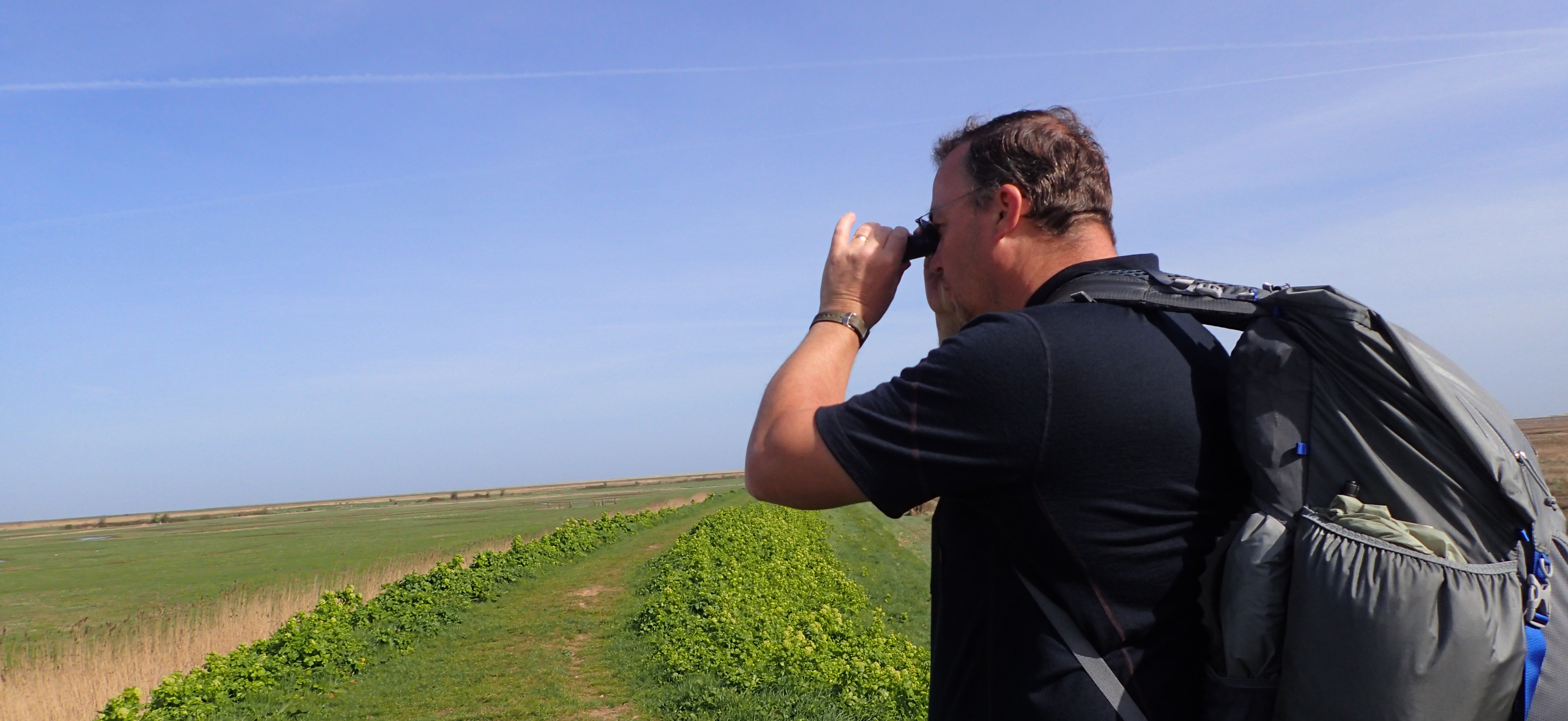 Because I knew that the nature watching was going to be so good on this trail, especially the Norfolk Coast Path, I wanted to include some optics in my kit list. Eschewing my heavy binoculars, I took a 109g 8x20 monocular. I was pleased I did as it was often used