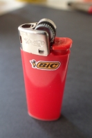Mini-Bic lighter