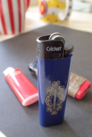 Disposable lighter from Cricket