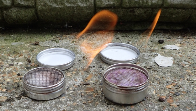 The two sizes of Speedster Stove that Three Points of the Compass has been relying on recent treks. 20ml and 30ml variants. So light that a second already primed with fuel can also be taken