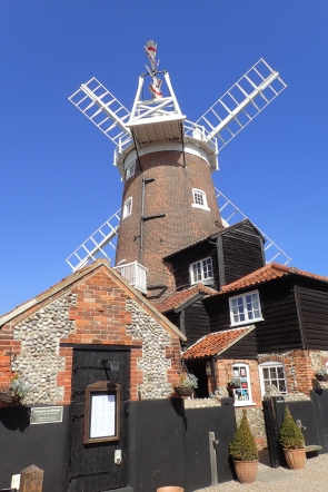 Cley Mill was on the Norfolk Coast Path
